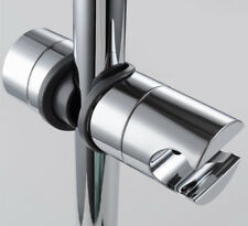20-25mm Replacement ABS Chrome Shower Rail Head Slider Holder Adjustable Bracket