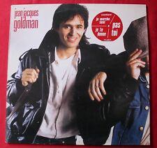 Jean Jacques Goldman, non homologué,  LP - 33 Tours avec sticker 3 titres