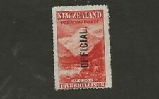 NEW ZEALAND SC# O30 MLH STAMP
