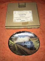 Limited edition the Coronation Scot Train Davenport pottery collectors plate