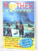 MOTHER Strategy Guide w/Map Nintendo Famicom Book 1989 Ltd