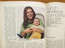 Feb. 17-1973 TV Guide(McMILLAN AND WIFE/SUSAN SAINT JAMES/ROCK HUDSON/DIANA RIGG