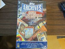 2001 Topps Archives Series 2 Baseball Factory Sealed Box (S5) 20 pack 8 Cards