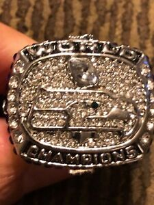RUSSELL WILSON 2013 COMMEMORATIVE CHAMPIONSHIP RING SEAHAWKS SIZE 11