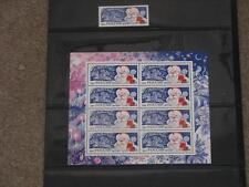 Russia 1994 Holiday Souvenir Sheet & single stamp, Mint Hinged