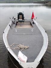 Angelboot Aluminium Quicksilver SF500 mit Trailer,2 Motorenund Echolot