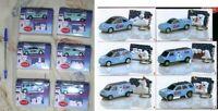 Set 6 Modelo Vehículos Coca Cola Osos Polares Polar Bears Car Models Official