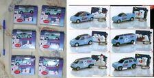Set 6 Baggage Cars Coca Cola Polar Bears Polar Bears Car Models Official