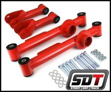 SDT 1979-2004 Ford Mustang Full Set 4 Piece Rear Steel Control Arms Kit Red