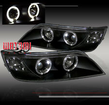 96-02 BMW Z3 M/ROADSTER COUPE 2DR HALO PROJECTOR HEADLIGHTS BLACK 1996 1997-2002