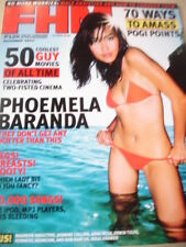 november 2004 FHM Philippines #53 Phoemela Barand sexy cover + Bai Ling HOT LOOK
