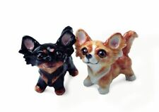 Chihuahua Long-haired Gift, Cruet Set Handmade by Blue Witch