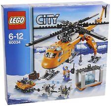 LEGO CITY ARCTIC HELICRANE ELICOTTERO ARTICO   60034 RARO NUOVO FUORI PRODUZIONE