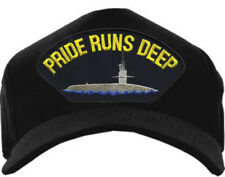 Pride Runs Deep Hat / USN Submarine Baseball Cap