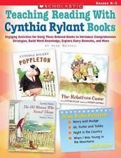 Teaching Reading with Cynthia Rylant Books : Engaging Activities for Using These