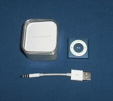 Apple iPod Shuffle 2GB Model A1373 ~ Blue MP3 Player in Box with USB ~ MC751LL/A