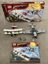 Lego Indiana Jones Fighter Plane Attack (7198) 100% Complete