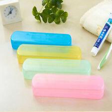 Transparent Zahnbürste Zahnpasta Box Zahnputz-Sets Kunststoff Aufbewahrungsbox