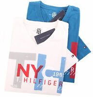 Tommy Hilfiger Men's Short Sleeve Classic Fit V-Neck Tee T-shirt - $0 Free Ship