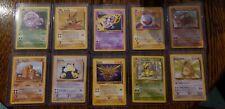 Vintage Pokemon Card Lot *rare cards*