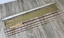 "Wright Mcgill Split Bamboo 8'6"" Fly Rod 5.5oz Vintage 1938 Granger Champion Pole"
