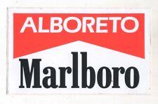 Adesivo Formula 1 MICHELE ALBORETO MARLBORO Team F1 sponsor sticker anni 80