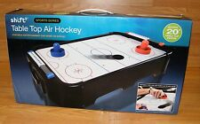 """Shift3 Sports Series Sturdy 20"""" Portable Table Top Air Hockey Game **NEW**"""