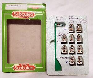 Subbuteo Football Soccer Team BOXED - 63000 - Newcastle United UTD Set 8