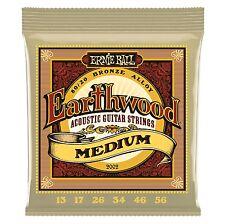 Ernie Ball P02002 Earthwood Medium 80/20 Bronze Acoustic Set, .013 - .056
