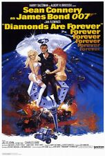"""DIAMONDS ARE FOREVER Movie Poster [Licensed-NEW-USA] 27x40"""" Theater Size (Bond)"""