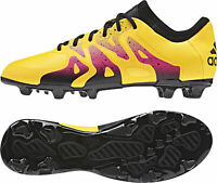 adidas X 15.1 Firm Ground / AG Junior Football Boots - Gold