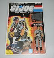 *RECARDED* 1986 GI Joe Mainframe Figure Complete Sealed *CUSTOM File Card Back*