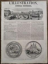 L'ILLUSTRATION 1851 N 413 REGENERATION DE L' EMPIRE OTTOMAN  par ABDUL-MEDJID