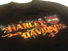 Orlando Florida Harley Davidson Motorcycles Tee Shirt - Medium Black T-Shirt EUC