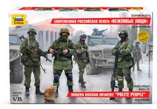 "Zvezda 1/35 Modern Russian Infantry ""Polite People"" # 3665"
