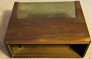 FISHER F30 ORIGINAL MAHOGANY CABINET / CASE For 400 500/B/C 800C TUBE RECEIVERS