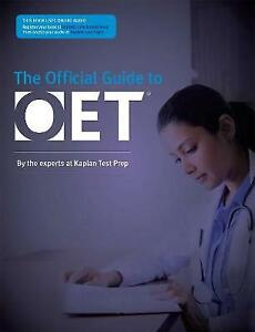 Official Guide to OET by Kaplan Test Prep Paperback 2018 New
