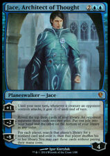 JACE ARCHITECT OF THOUGHT NM mtg Jace vs Vraska Blue - Mythic FOIL