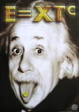 ALBERT EINSTEIN POSTER E = XTC