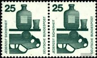 BRD (BR.Deutschland) 697A waagerechtes Paar postfrisch 1971 Unfallverhütung