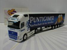 "Herpa 927741 # Volvo FH GL XL Sattelzug "" Puntigamer "" in weiß-blau 1:87 NEU"