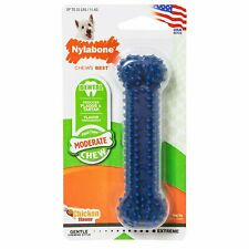 Nylabone Dental Chew Original Regular Size | Flavored Nylon Bone for 25 lb Dogs