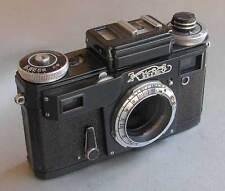 Soviet Arsenal Contax copy KIEV 4M BLACK 35mm RF camera BODY EXC.