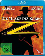 < Blu-ray * DIE MASKE DES ZORRO -  Antonio Banderas, C. Zeta-Jones  # NEU OVP