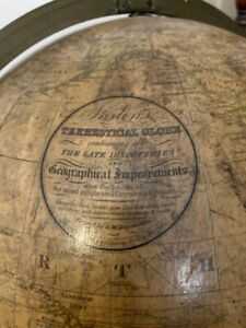 Joslins Terrestrial Globe / World Globe