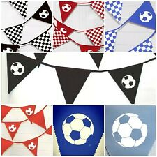 Printed Football Bunting 5 and 10 Metres Liverpool football party decoration