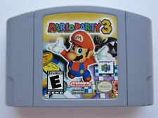 OEM Mario Party 3 Nintendo 64 N64 Authentic Video Game Cart Super Rare Fun GOOD!