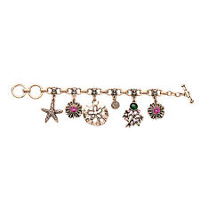 B462 Forever 21 Shell Seahorse Starfish Sea Star Reef Coral Reef Bracelet  UK