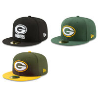 Green Bay Packers GB NFL Authentic New Era 59FIFTY Fitted Cap - 5950 Hat
