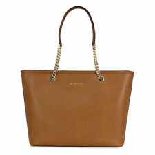 Michael Kors Jet Set Leather Tote - Brown (30T6GJ8T6L)
